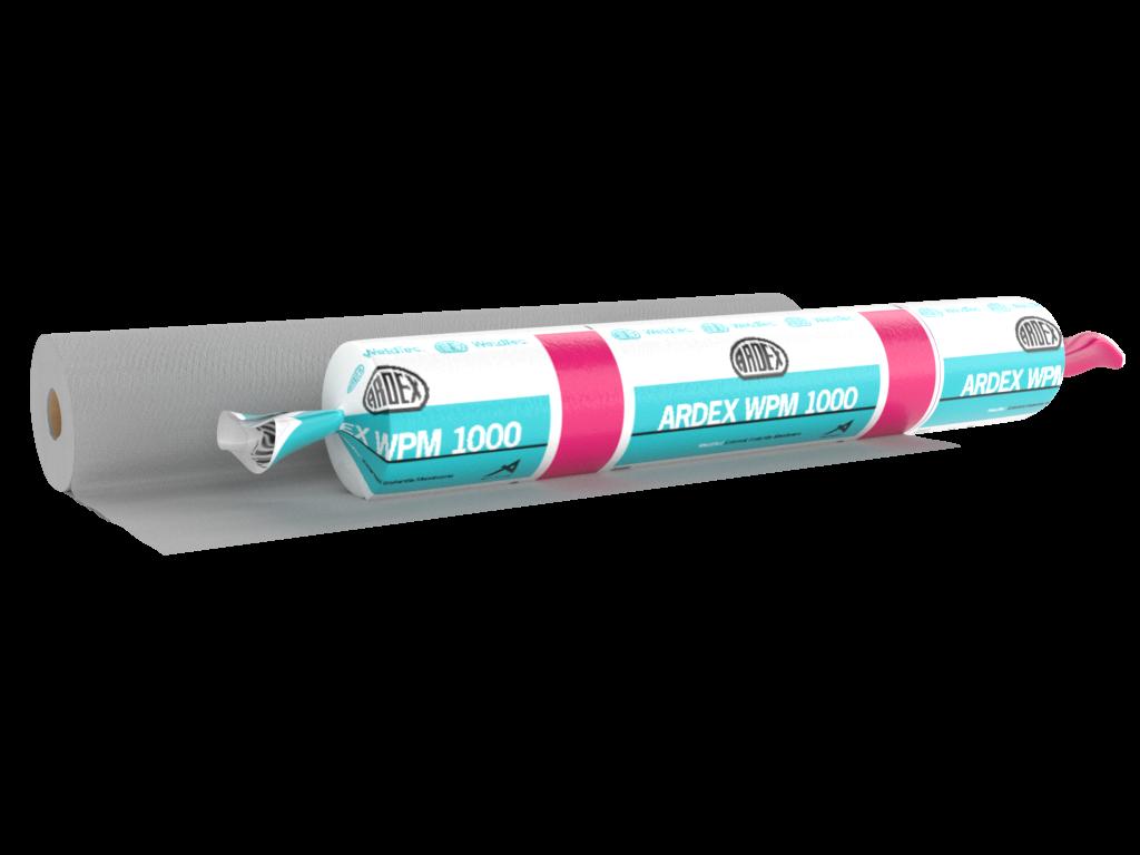 Ardex waterproofing system